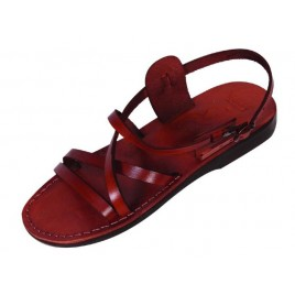 Leather Biblical Sandals model 002