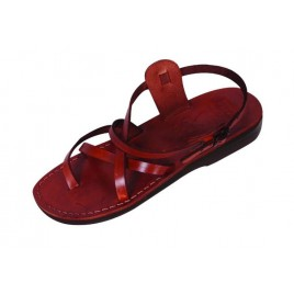 Leather Biblical Sandals model 003