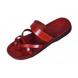 Leather Biblical Sandals model 004