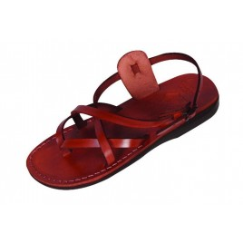 Leather Biblical Sandals model 005