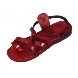 Leather Biblical Sandals model 006