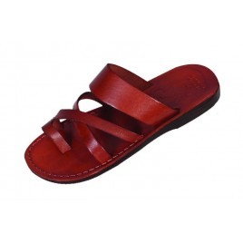 Leather Biblical Sandals model 008