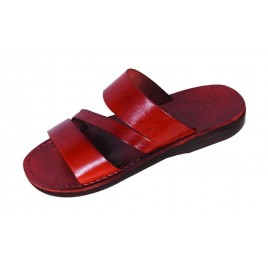 Leather Biblical Sandals model 009