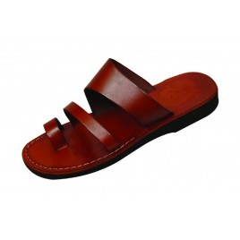 Leather Biblical Sandals model 011