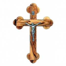 Wall Cross with Crucifix 14 cm 5.5 inch